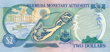 Image of money from Bermuda