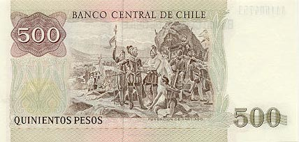 Image of money from Chile