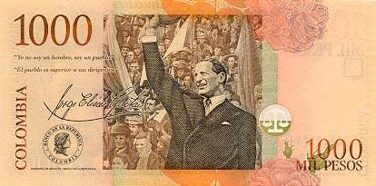 Image de monnaie de Colombie