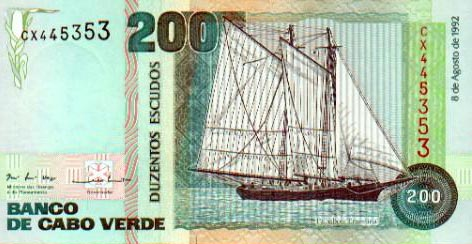Image of money from Cape Verde