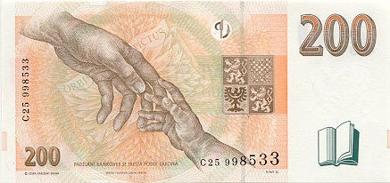 Image of money from Czech Republic