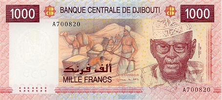 Image of money from Djibouti