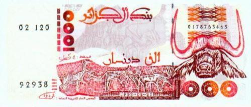 Imagen de dinero de Argelia