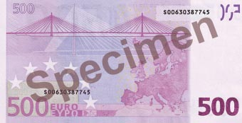 Image of money from France