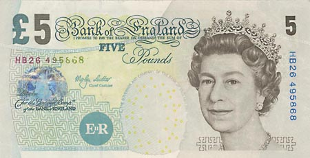 Image of money from United Kingdom