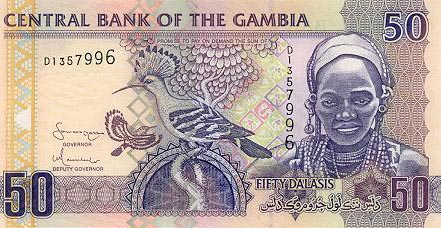 Image of money from Gambia