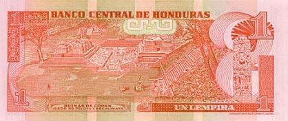 Imagen de dinero de Honduras