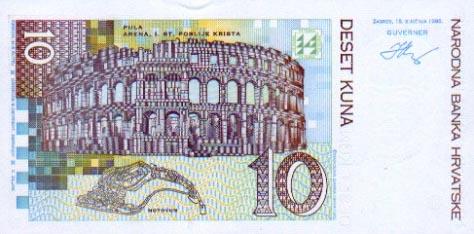 Immagine di denaro da Croazia