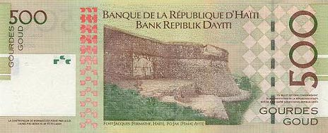 Image of money from Haiti