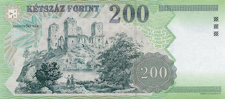Image of money from Hungary