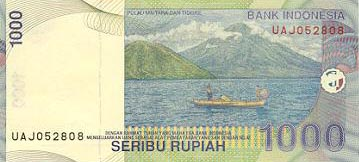 Image of money from Indonesia
