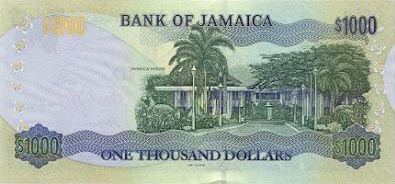 Image of money from Jamaica