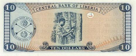 Image of money from Liberia