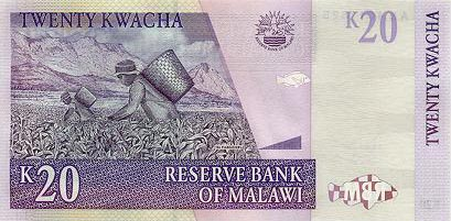 Image of money from Malawi