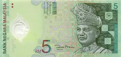 Image of money from Malaysia