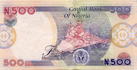 Image of money from Nigeria