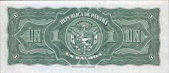Image of money from Panama