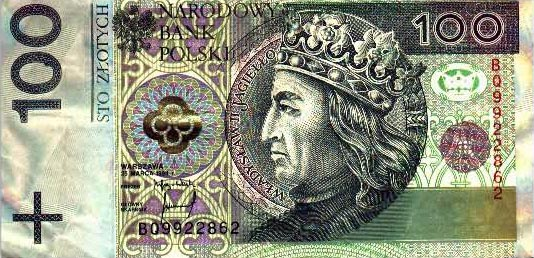 Image of money from Poland