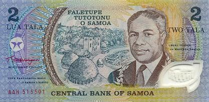 Image of money from Samoa