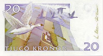 Image de monnaie de la Suède