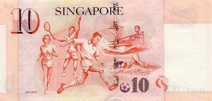 Image of money from Singapore