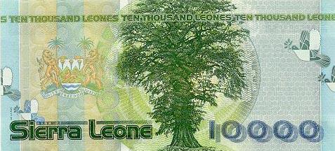 Imagen de dinero de Sierra Leone