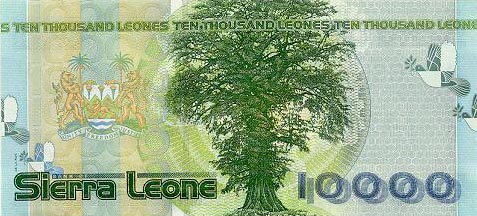 Image of money from Sierra Leone