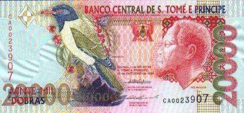 Imagen de dinero de Santo Tomé y Príncipe