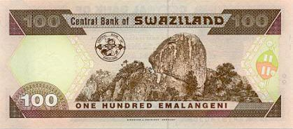 Image of money from Swaziland