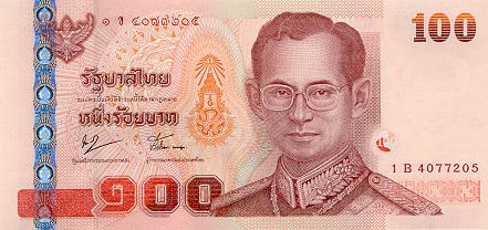 Image of money from Thailand