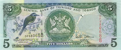 Image of money from Trinidad & Tobago