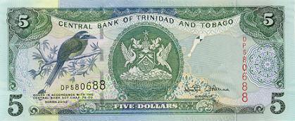 Image of money from Trinidad & Tobago