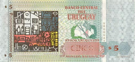 Image of money from Uruguay