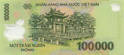 Image of money from Vietnam