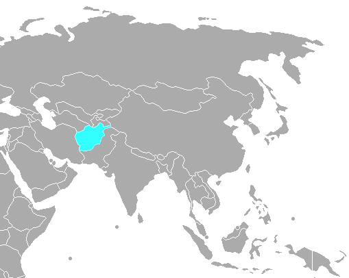 Visual Geography Afghanistan - What continent is afghanistan in