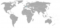 Image of position in world of Switzerland