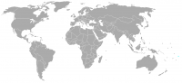 Image of position in world of Cook Islands