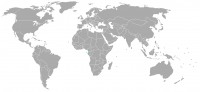 Image of position in world of Equatorial Guinea