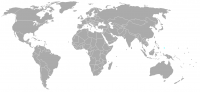 Image of position in world of Guam