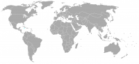 Image of position in world of Jamaica