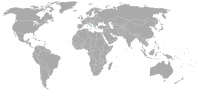 Image of position in world of Montenegro