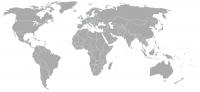 Imagen de la posición en el mundo de Paises Bajos