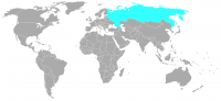 Image of position in world of Russia