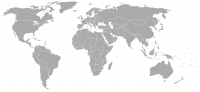 Image of position in world of Seychelles