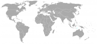 Image of position in world of Timor-Leste