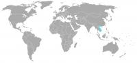 Imagen de la posición en el mundo de Vietnam
